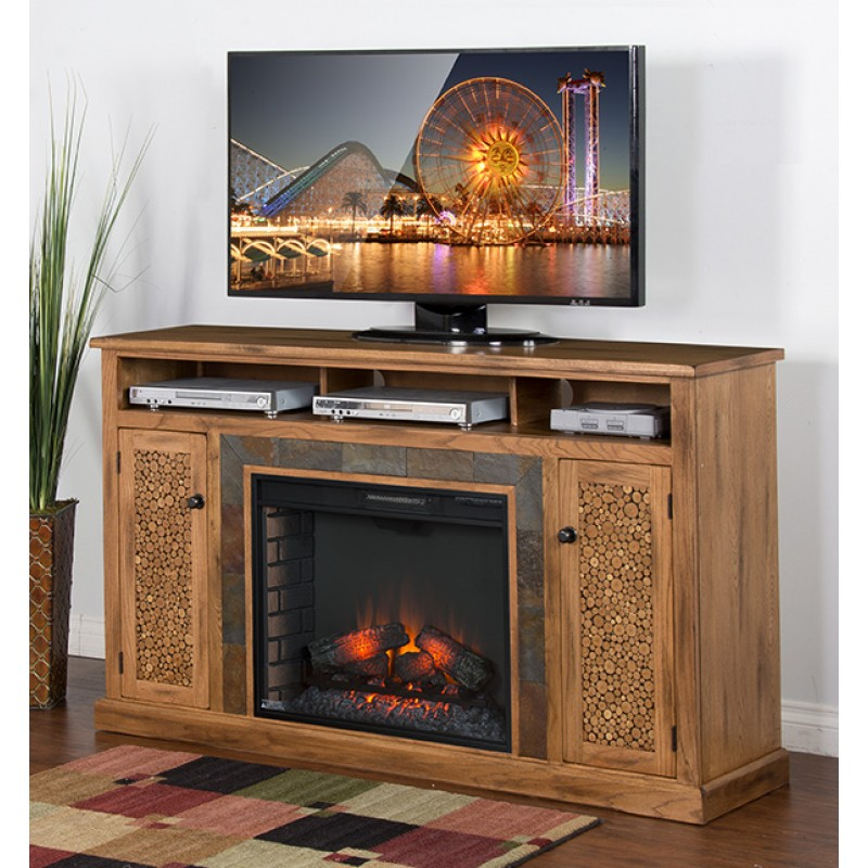 Sedona Fireplace Tv stand Image