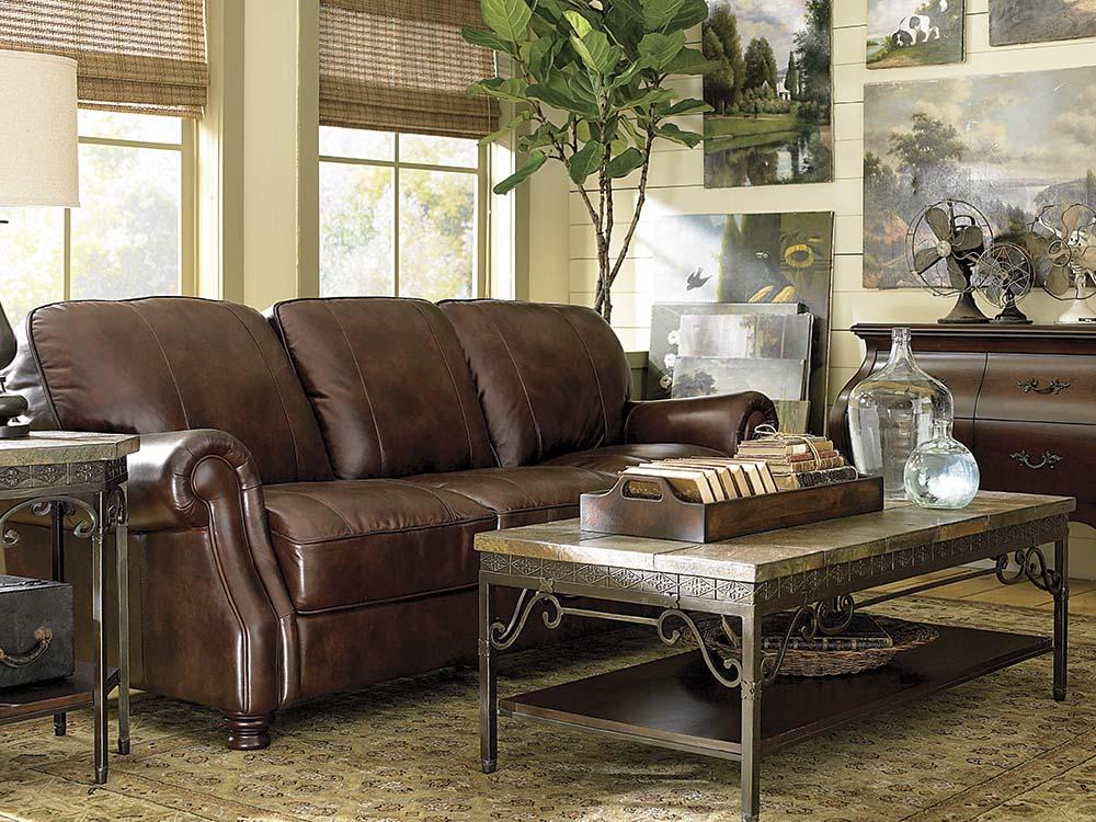 Bradford Leather Sofa Image