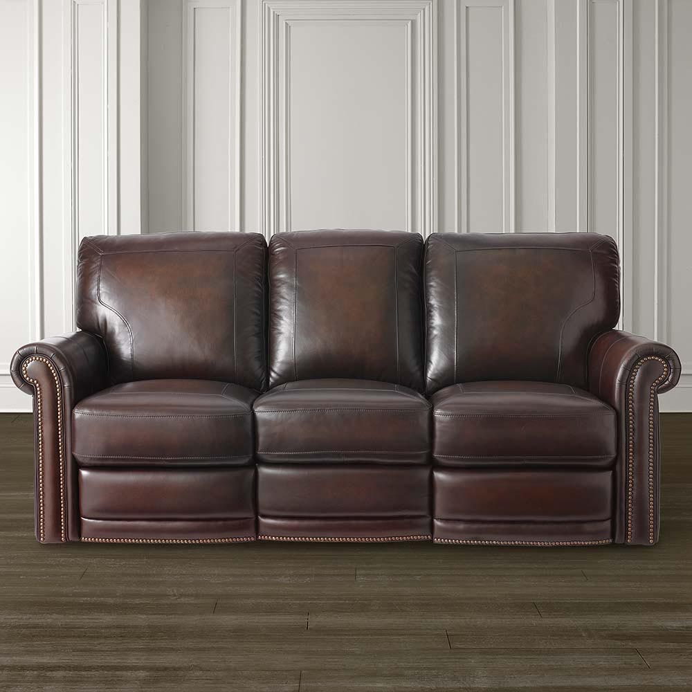 Hamilton Leather Motion Sofa Image