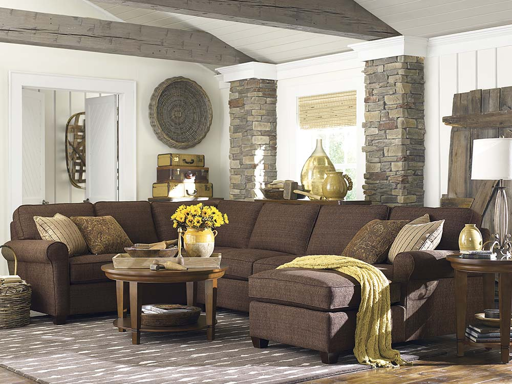 Brewster U Shaped Sectional Image