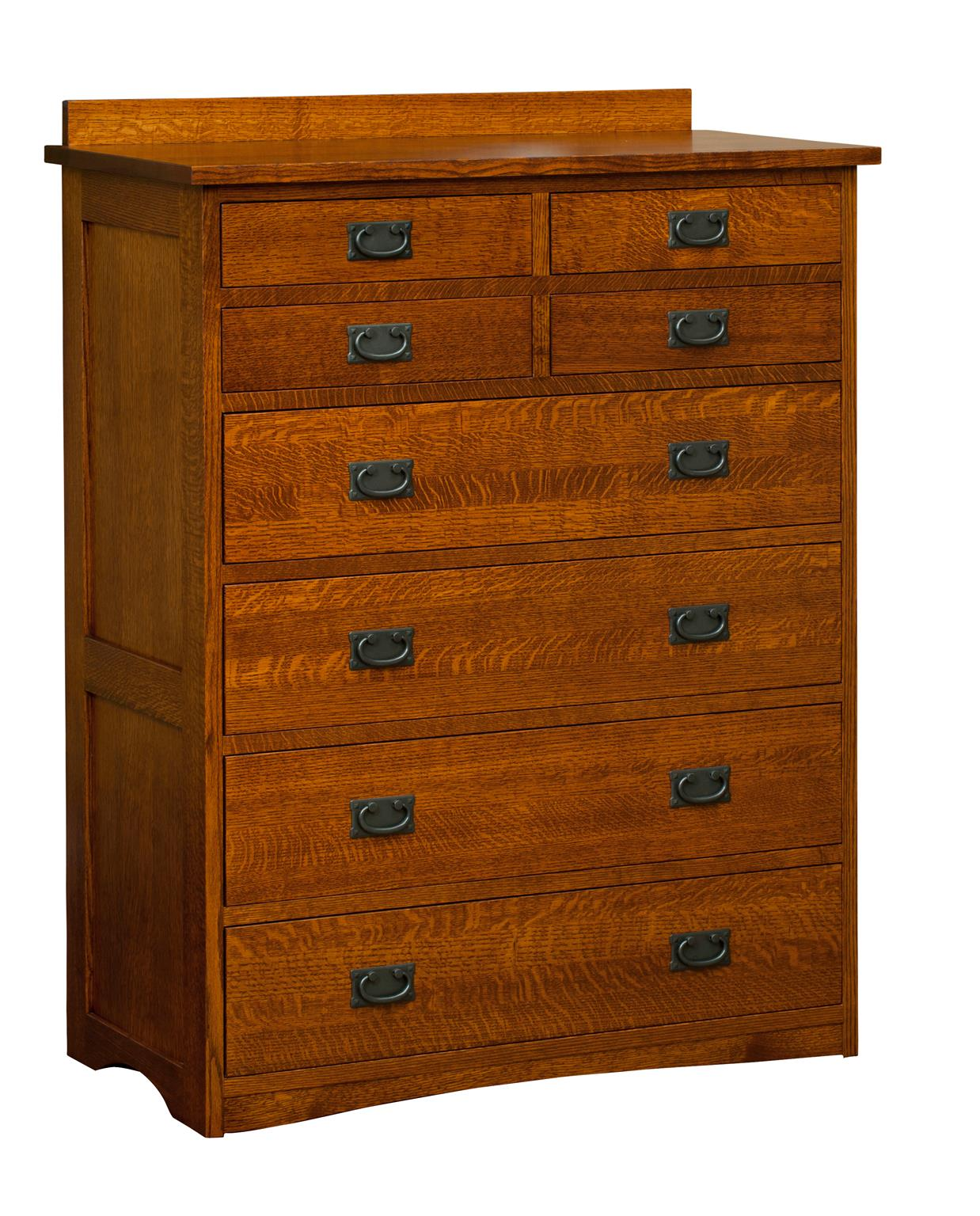 Amish Bungalow 8 Drawer Chest Image