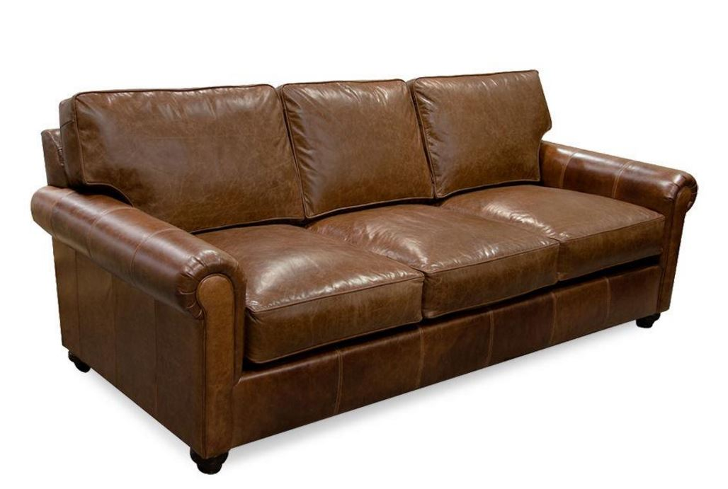 Lonestar Custom Leather Sofa, Love, chair Image