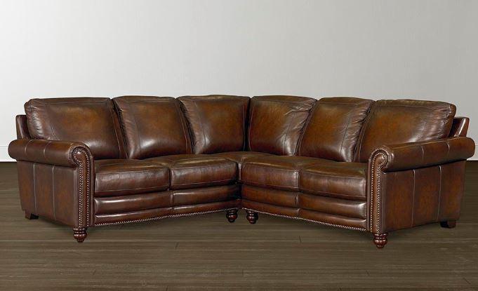 Hamilton Leather Sectional Image