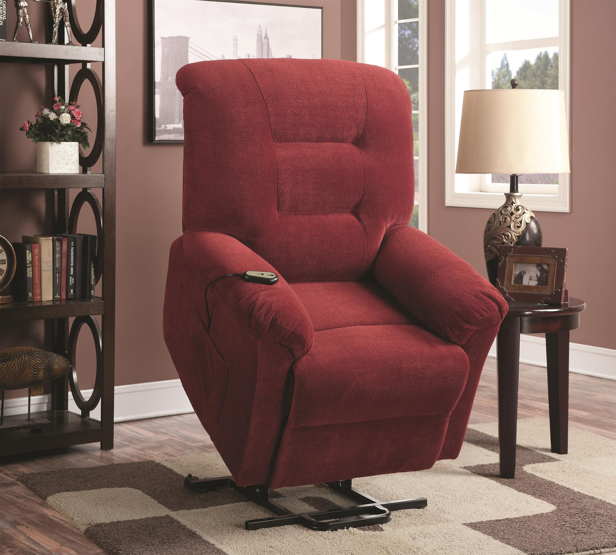 Casual Power Lift Recliner 3 Colors Image