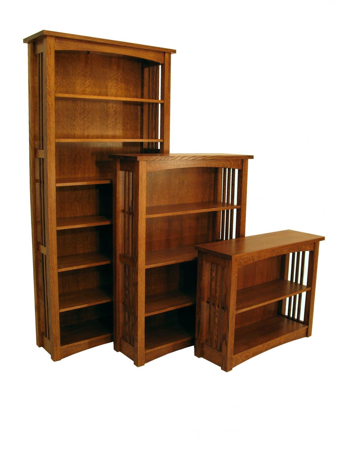 Amish Bungalow Bookcase Image