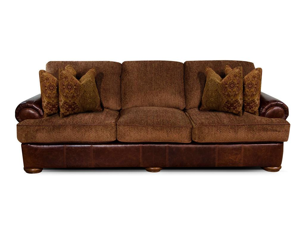 Landford Sofa Leather & Fabric Image