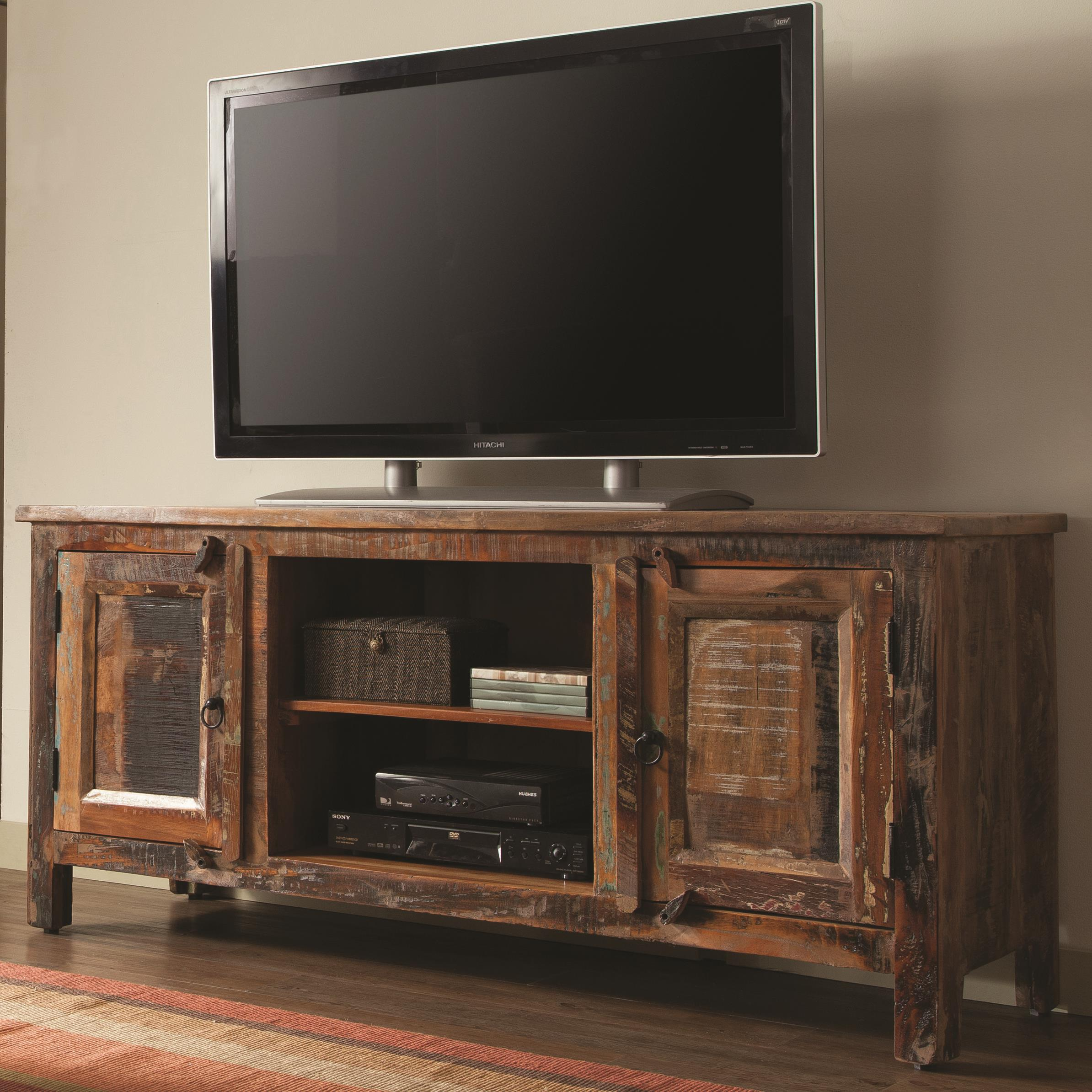 Reclaimed Wood TV Stand Image