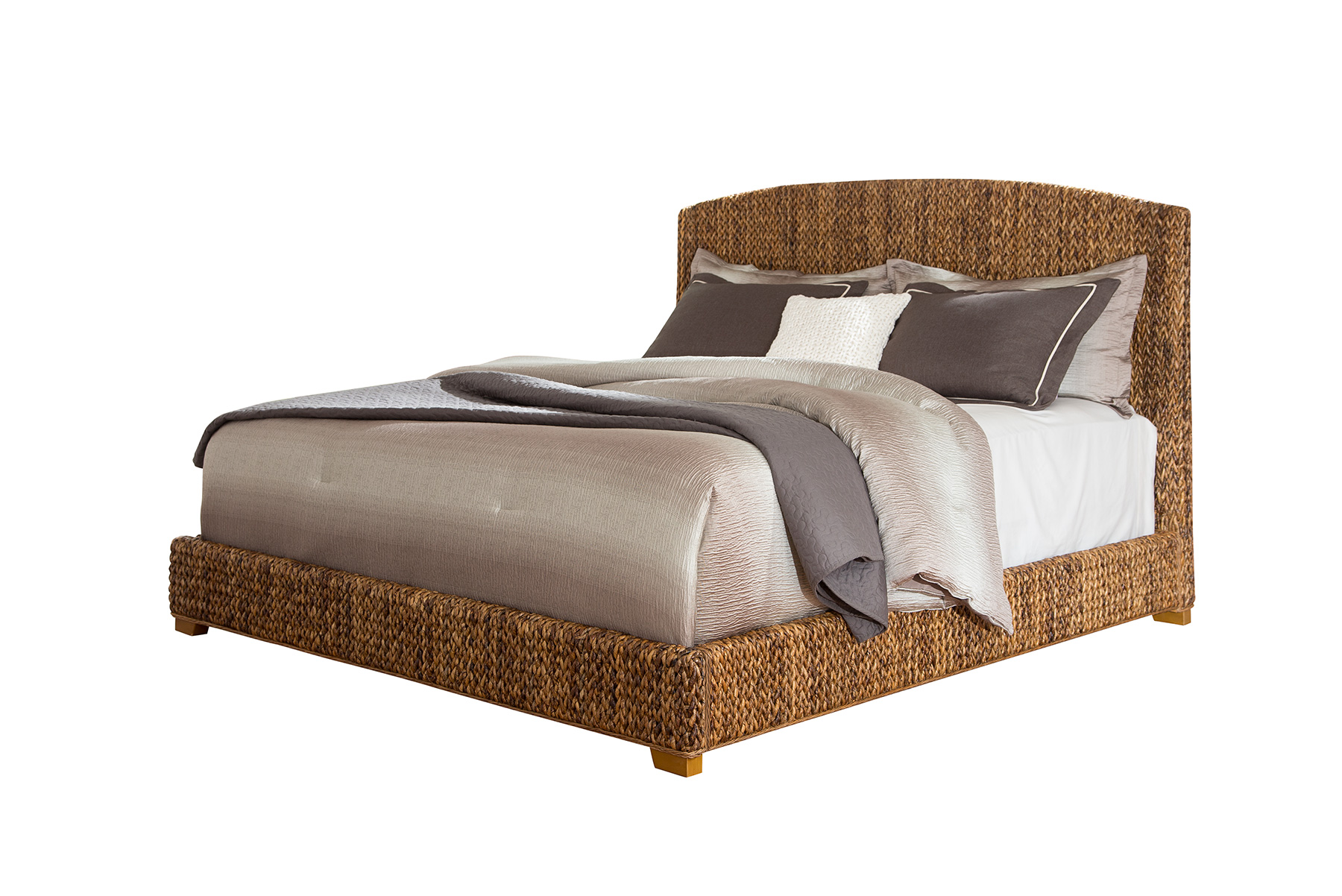 Laughton Woven Banana Leaf Bed Image