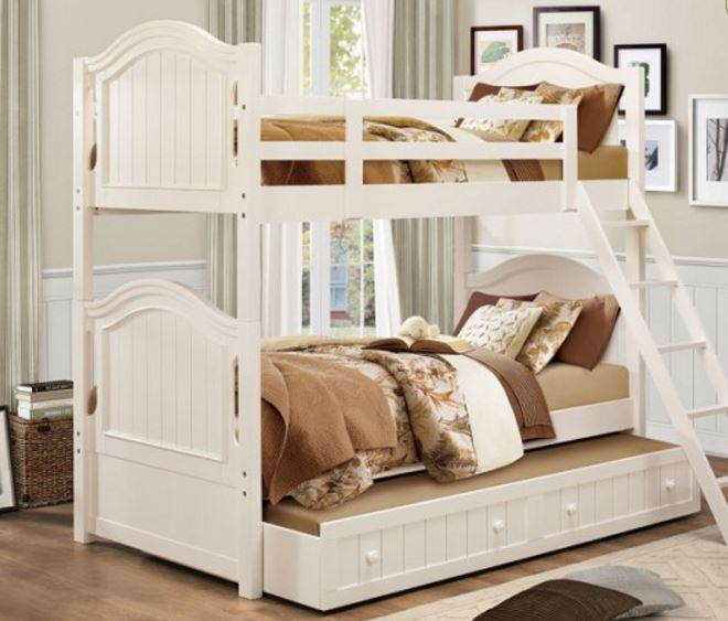 Clementine Collection Twin-Full Bunk Bed Image