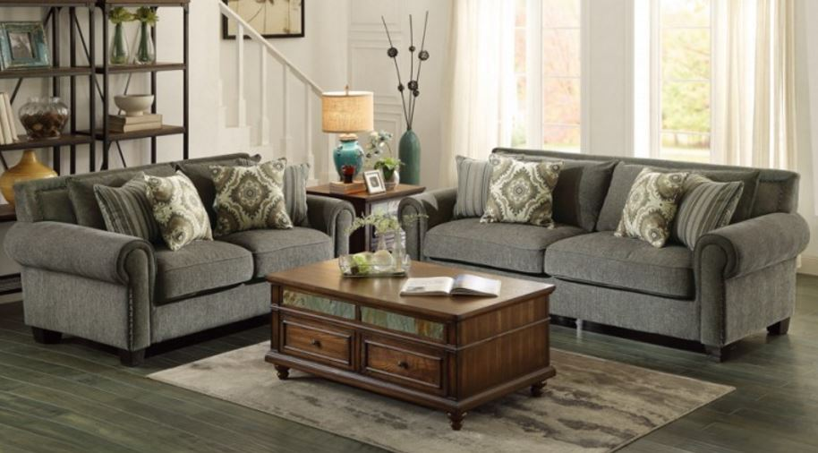 Hooke Collection Sofa Love seat & Chair Image