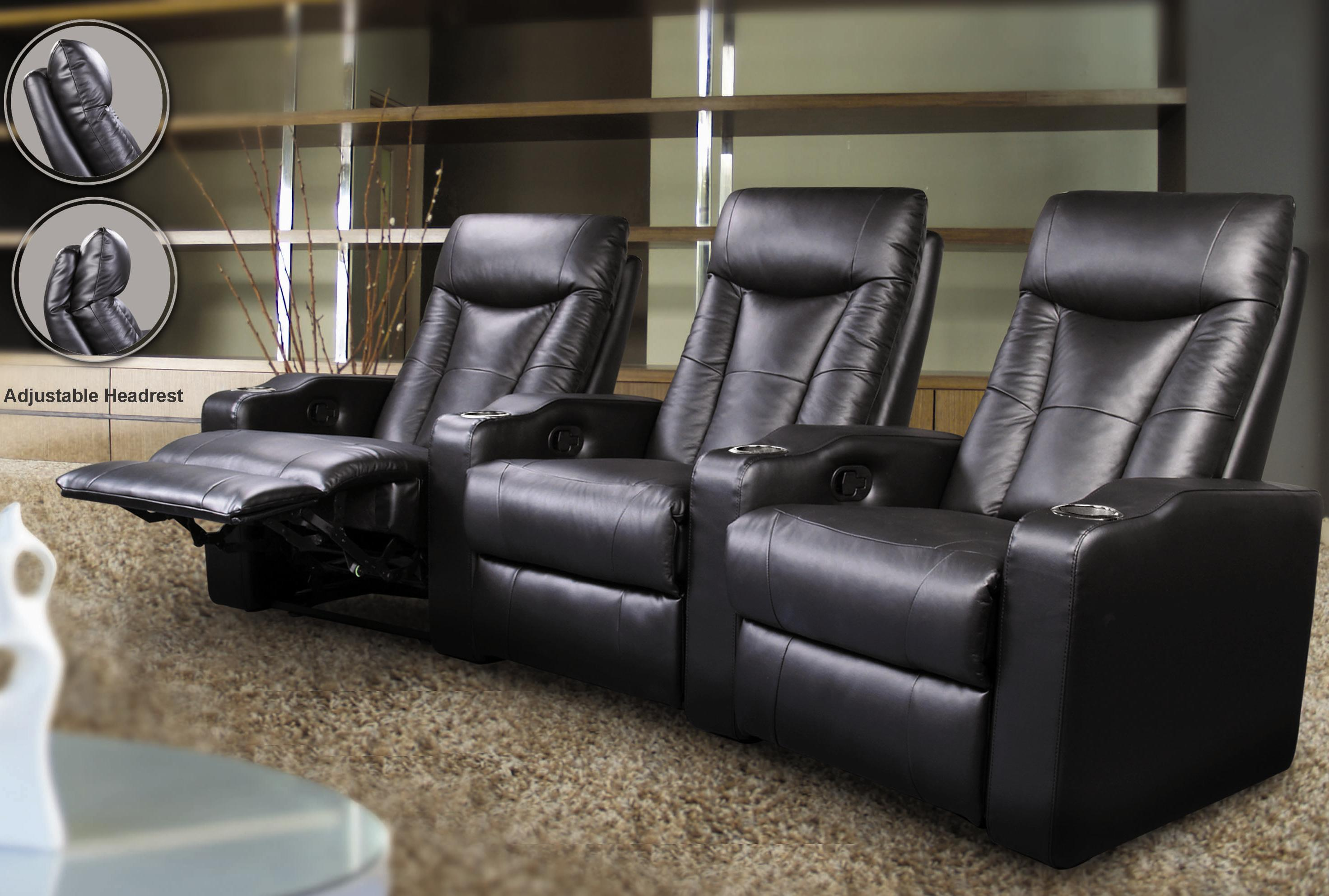 Pavillion Leather Theater Seating Image