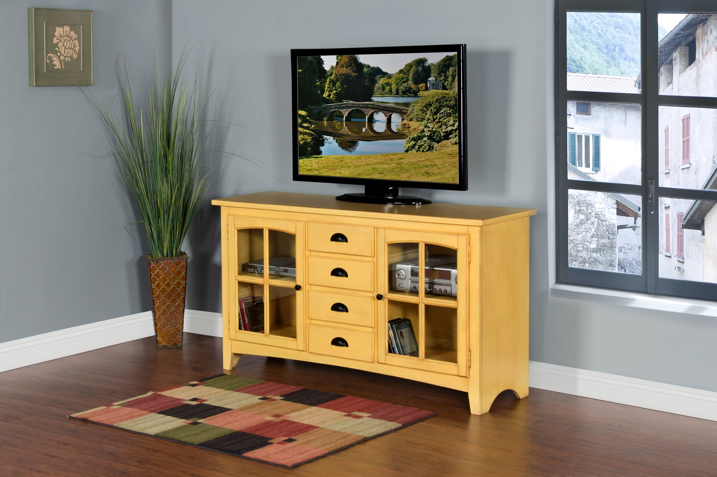 "Element 64"" TV Console Image"