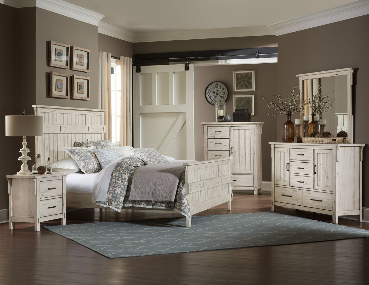 Terrace Bedroom Collection in White Image