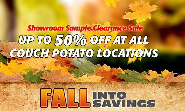 Fall Into Savings Pop-Up Promo