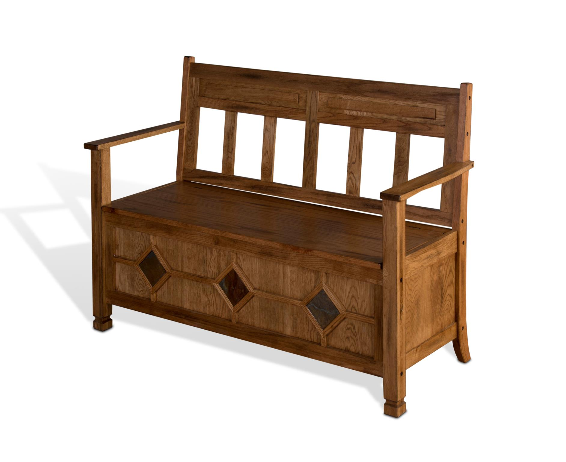 Sedona Bench with Storage Image