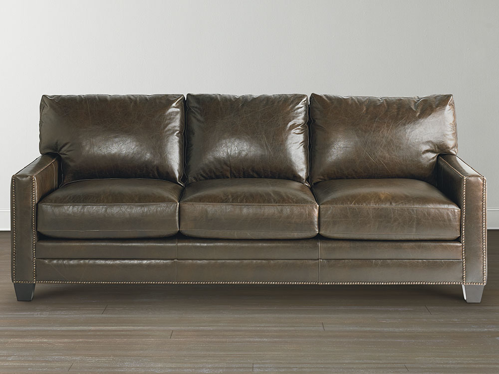 Ladson Custom Leather Sofa Image