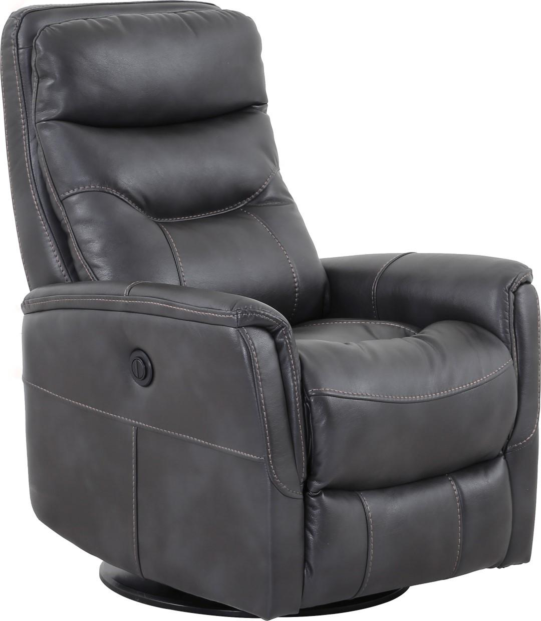 Gemini Rechargeable Battery Swivel Glider Recliner Image