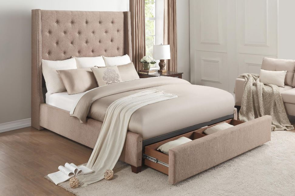 Fairborn Queen Platform Bed with Storage Image