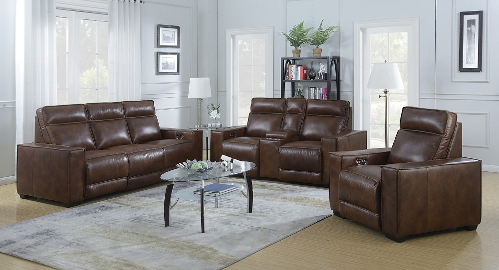 Montrose Collection Leather Recliner Image