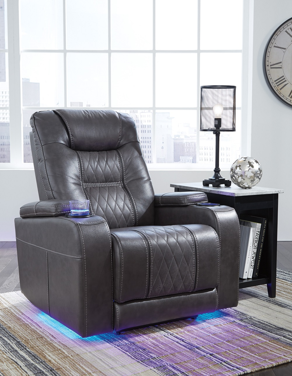 Composer Power Recliner With Adj Headrest Image