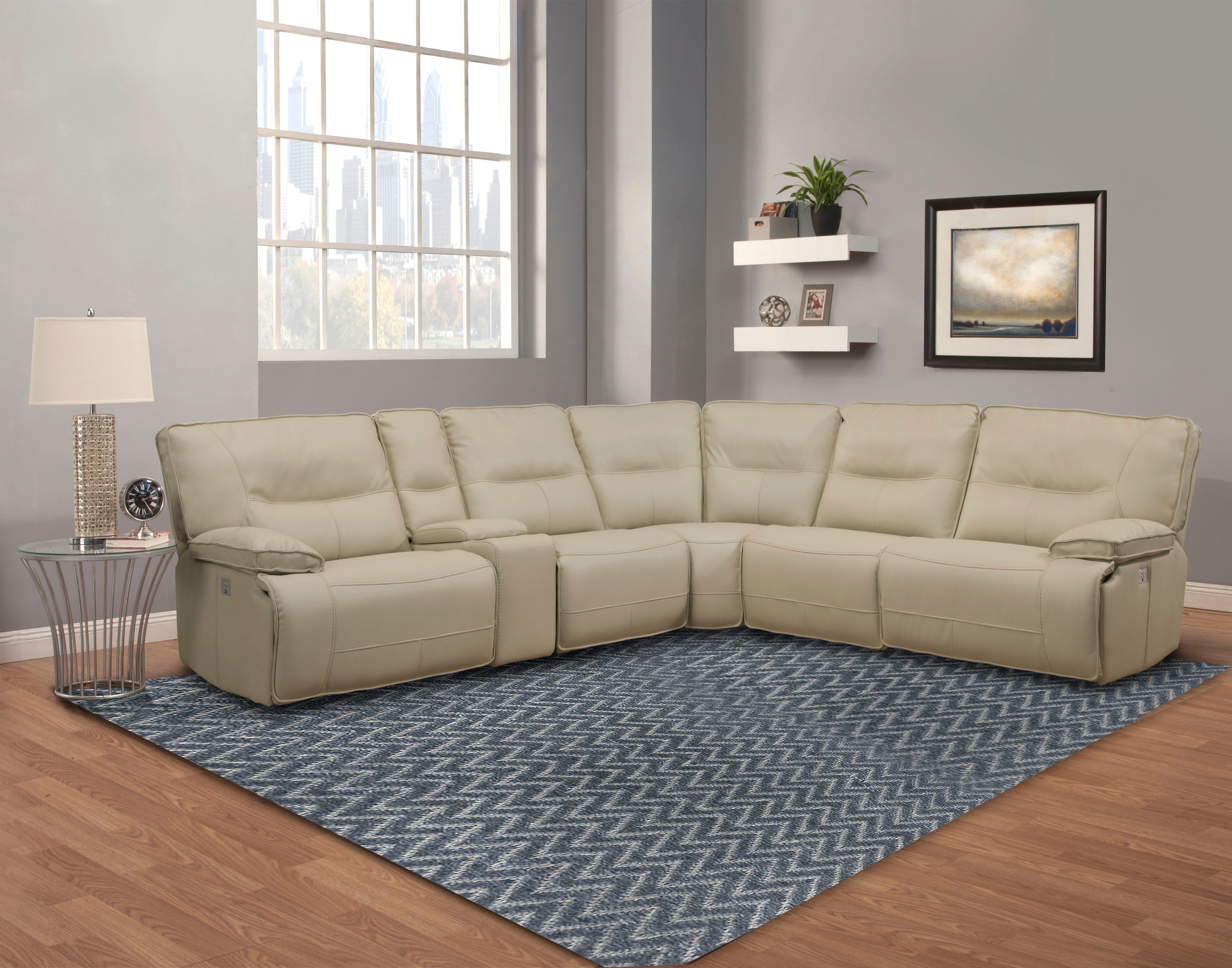 Springfield Power Recliner Sectional Image