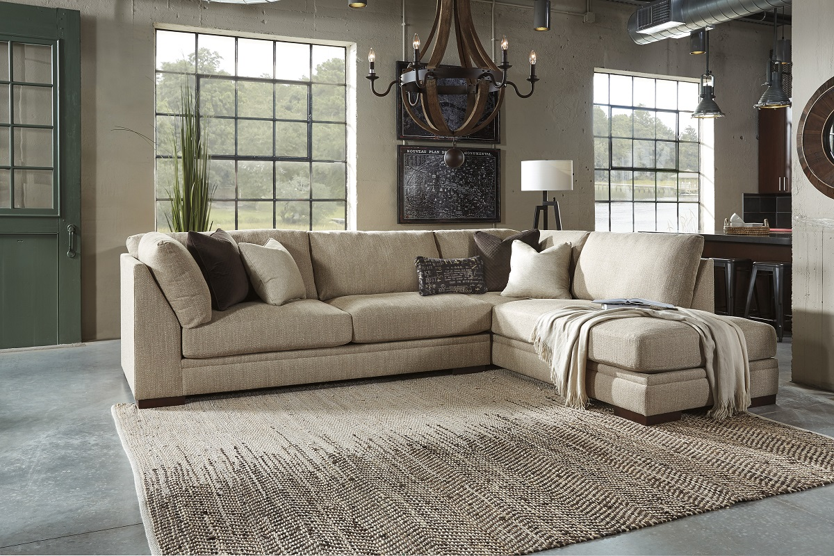 Manhattan Sofa Chaise Sectional Image