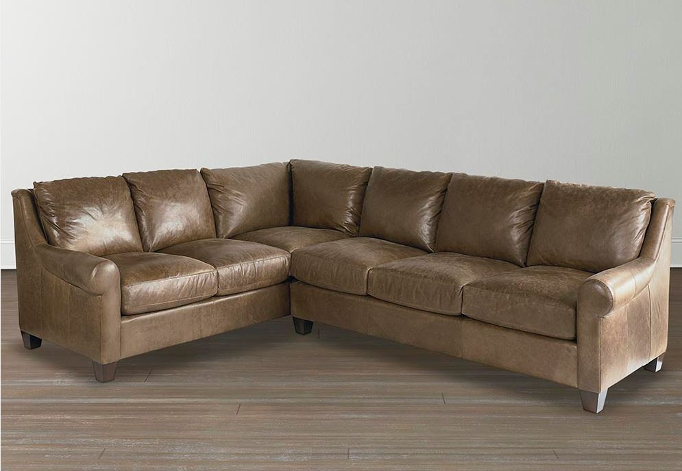 American Casual Custom Leather Sectional Image