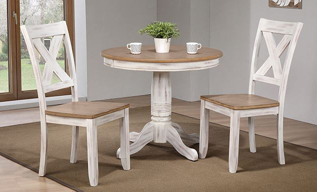 Prescot 36 in Pedestal Table Image