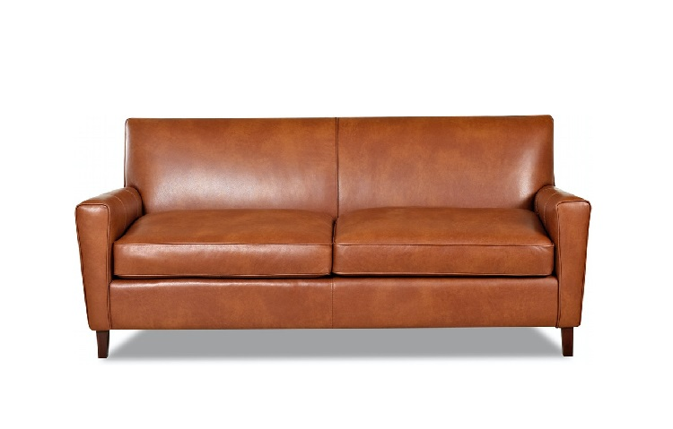 Goldie Leather Sofa Image