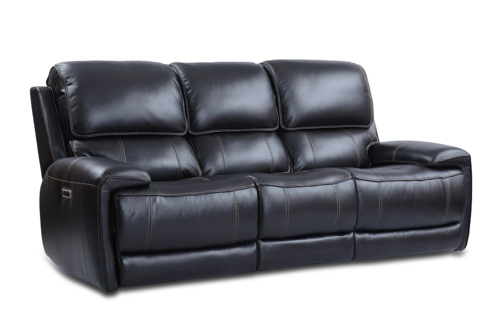 Empire Leather Power Sofa Image