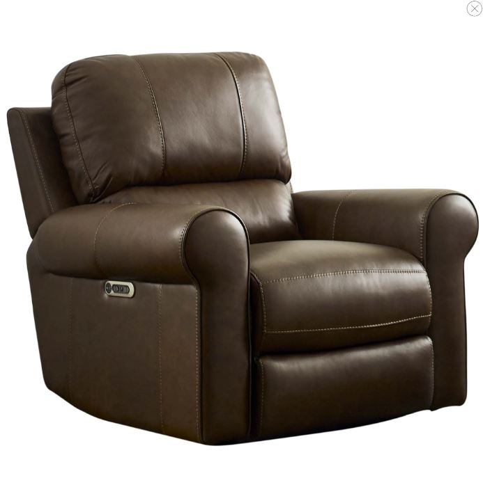 Travis Leather Power Recliner Image