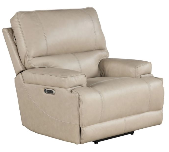 Whitman Linen Leather Power Recliner Image